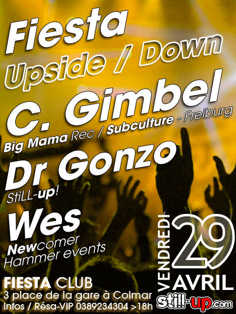 Fiesta Upside/Down #7, Christian Gimbel, Dr Gonzo, Wes