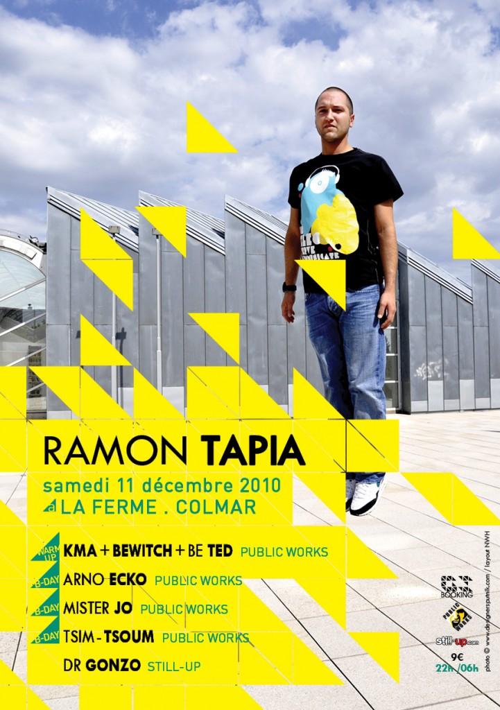 Ramon Tapia @ La Ferme, Colmar