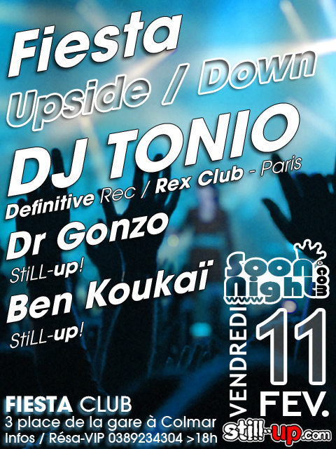FIESTA upside-down 5 - DJ Tonio