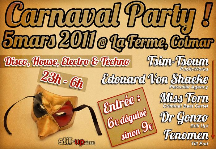 StiLL Up! CARNAVAL PARTY 2011